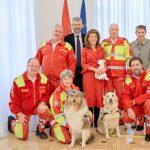 Samariterbund-Hundestaffeln: Lebensretter mit vier Pfoten